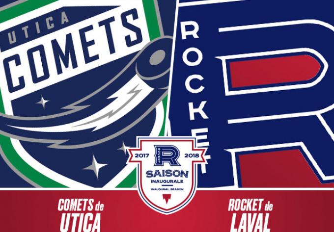 LAVAL ROCKET vs. UTICA COMETS, Friday, November 24, 2017 - Laval