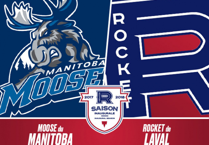 LAVAL ROCKET vs. MANITOBA MOOSE, Friday, January 26, 2018 - Laval