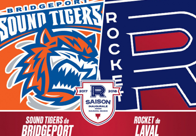 ROCKET DE LAVAL vs. SOUND TIGERS DE BRIDGEPORT, vendredi  2 mars 2018 - Laval