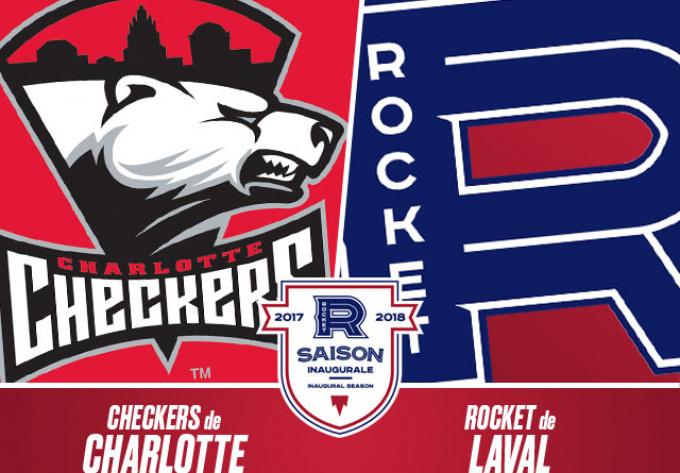 ROCKET DE LAVAL vs. CHECKERS DE CHARLOTTE, samedi 24 mars 2018 - Laval