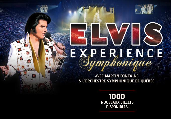 Elvis Expérience Symphonique, vendredi  9 février 2018 - Laval