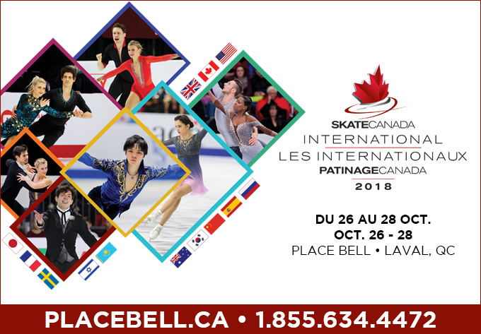 Les Internationaux Patinage Canada, vendredi 26 octobre 2018 - Laval