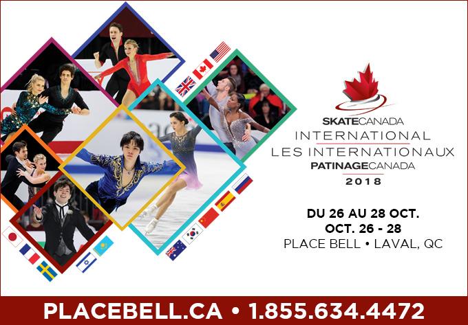 Les Internationaux Patinage Canada, vendredi 26 octobre 2018 - Laval