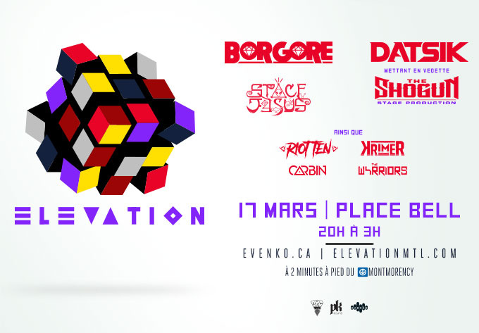 Elevation 2018, Saturday, March 17, 2018 - Laval