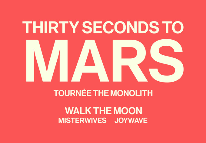 Thirty Seconds to Mars , vendredi  8 juin 2018 - Laval