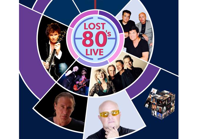 Lost 80's Live!, vendredi 28 septembre 2018 - Laval