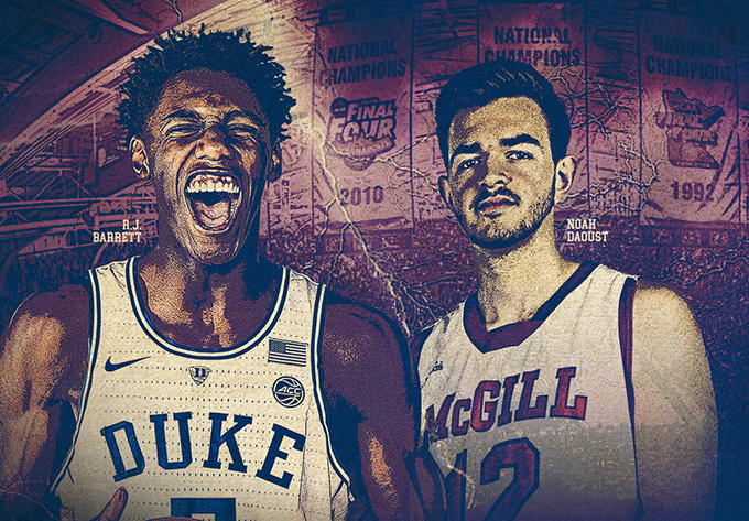 Duke vs Mcgill, dimanche 19 août 2018 - Laval
