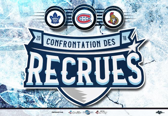 Confrontation des recrues LNH 2018 - TORONTO vs OTTAWA, samedi  8 septembre 2018 - Laval