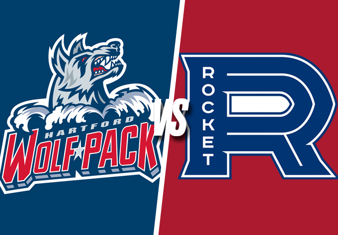 ROCKET DE LAVAL vs. WOLF PACK DE HARTFORD, mercredi 17 octobre 2018 - Laval