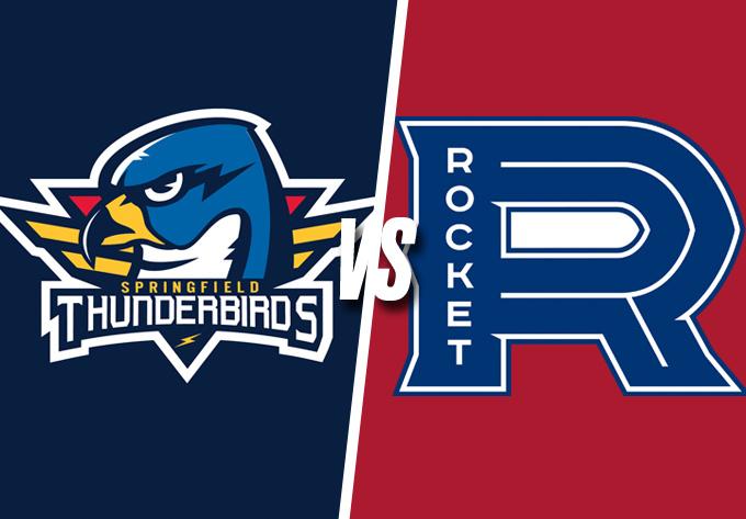ROCKET DE LAVAL vs. THUNDERBIRDS DE SPRINGFIELD, vendredi 19 octobre 2018 - Laval