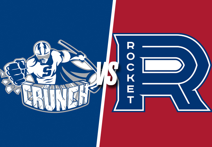 LAVAL ROCKET vs. SYRACUSE CRUNCH, Friday, December 14, 2018 - Laval
