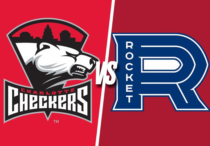 ROCKET DE LAVAL vs. CHECKERS DE CHARLOTTE, samedi 29 décembre 2018 - Laval