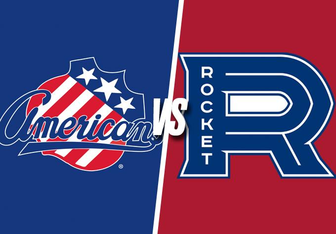 ROCKET DE LAVAL vs. AMERICANS DE ROCHESTER, vendredi  4 janvier 2019 - Laval