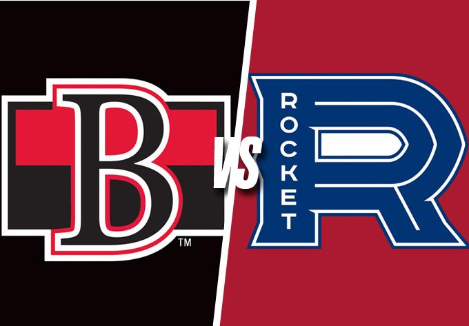 ROCKET DE LAVAL vs. SENATORS DE BELLEVILLE, vendredi  8 février 2019 - Laval