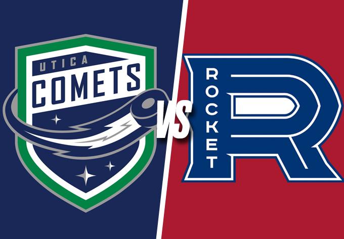 ROCKET DE LAVAL vs. COMETS D'UTICA, samedi  9 mars 2019 - Laval