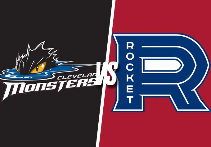 ROCKET DE LAVAL vs. CLEVELAND MONSTERS, mercredi  3 avril 2019 - Laval