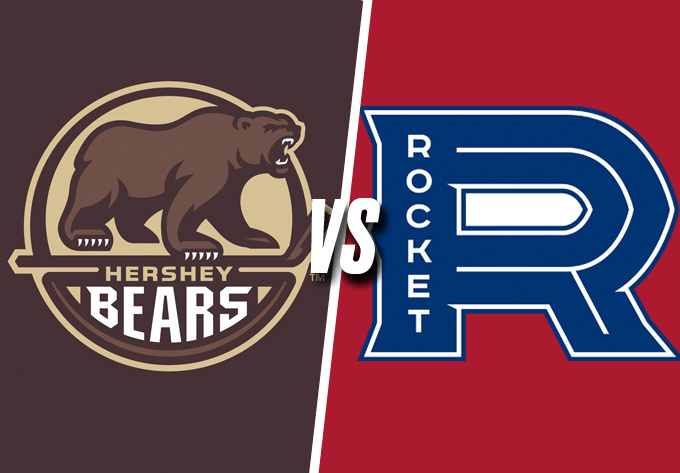 ROCKET DE LAVAL vs. BEARS DE HERSHEY, samedi  6 avril 2019 - Laval