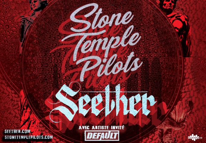 Stone Temple Pilots & Seether, jeudi 15 novembre 2018 - Laval