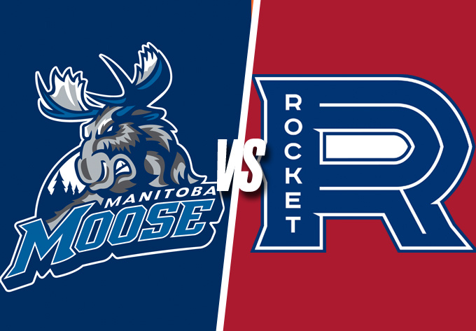 ROCKET DE LAVAL vs. MANITOBA MOOSE, vendredi 22 février 2019 - Laval