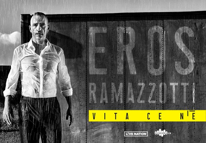 Eros Ramazzotti, jeudi 13 juin 2019 - Laval