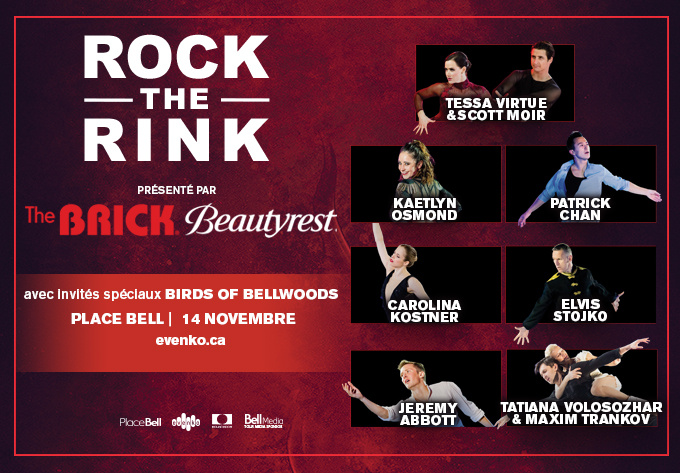 Rock the Rink, Thursday, November 14, 2019 - Laval