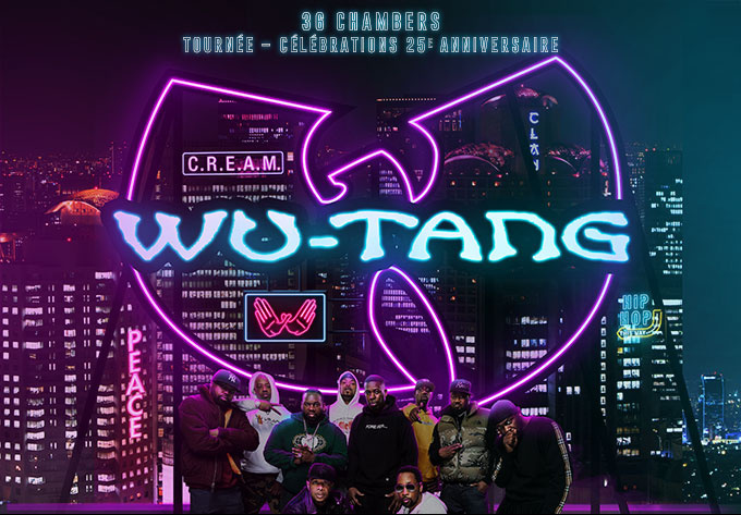 Wu-Tang Clan, Friday, July 12, 2019 - Laval