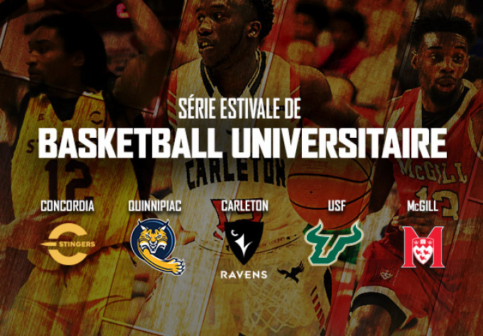 University Basketball, Wednesday, August  7, 2019 - Laval