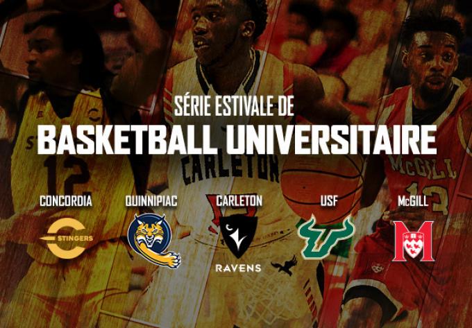 Basketball Universitaire, jeudi  8 août 2019 - Laval