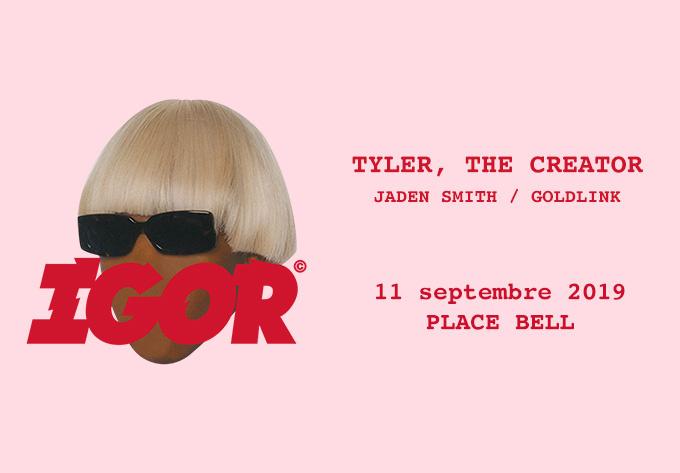 Tyler, The Creator, mercredi 11 septembre 2019 - Laval