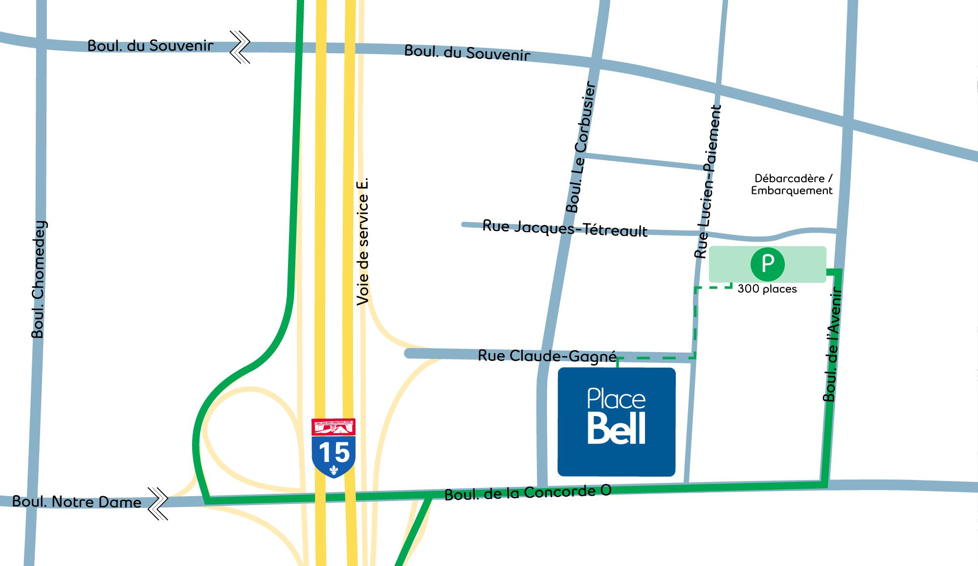 Université de Montréal Campus Laval Map